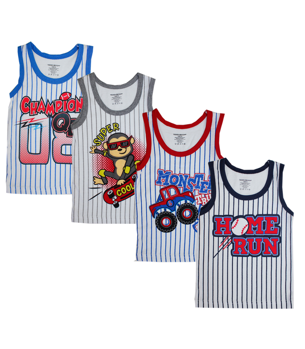 Infant Boys Tank Tops Printed