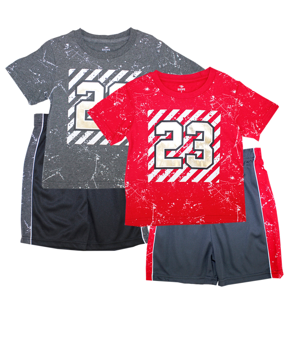 S1OPE Infant 23 Screen Athletic Mesh Short Sets