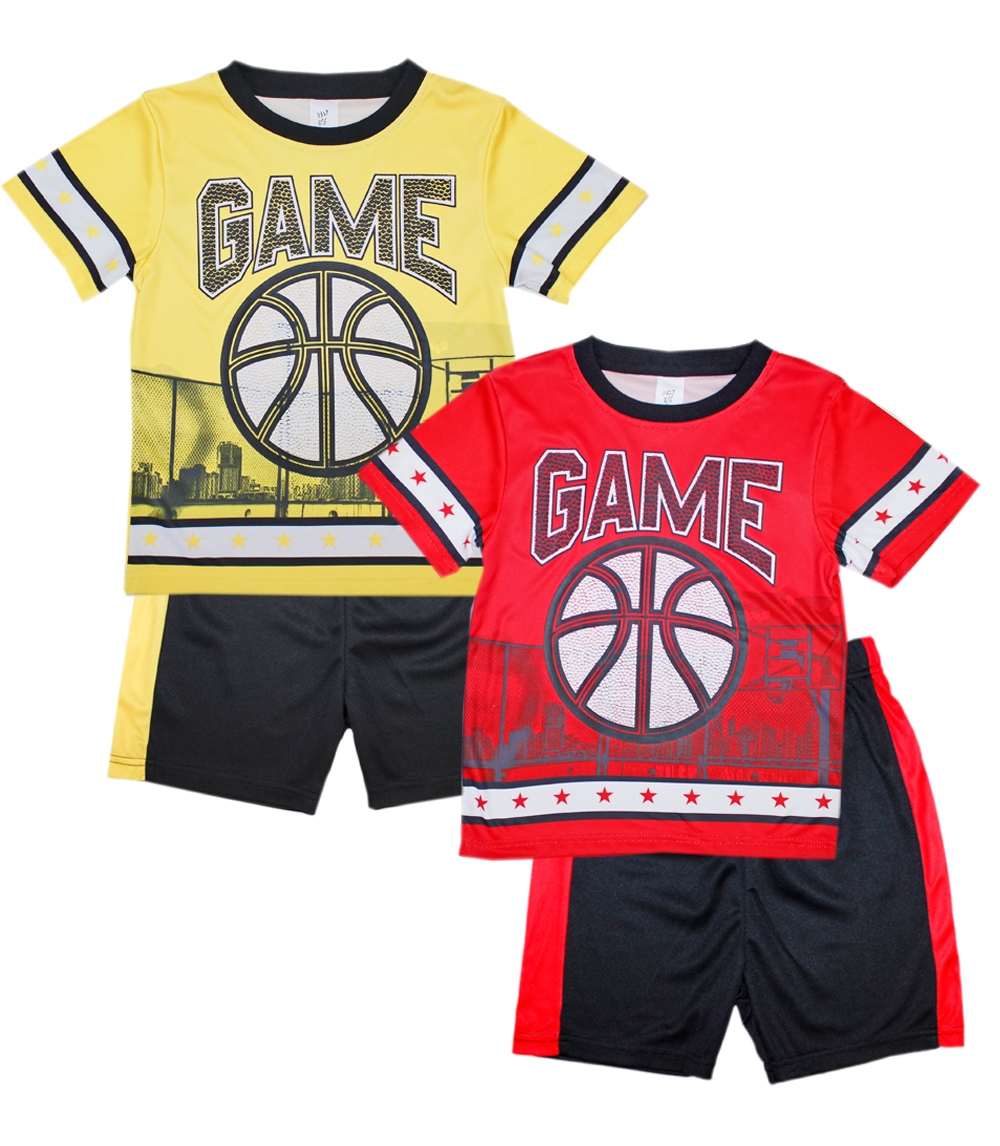 S1OPE Toddler Athletic Mesh Short Sets