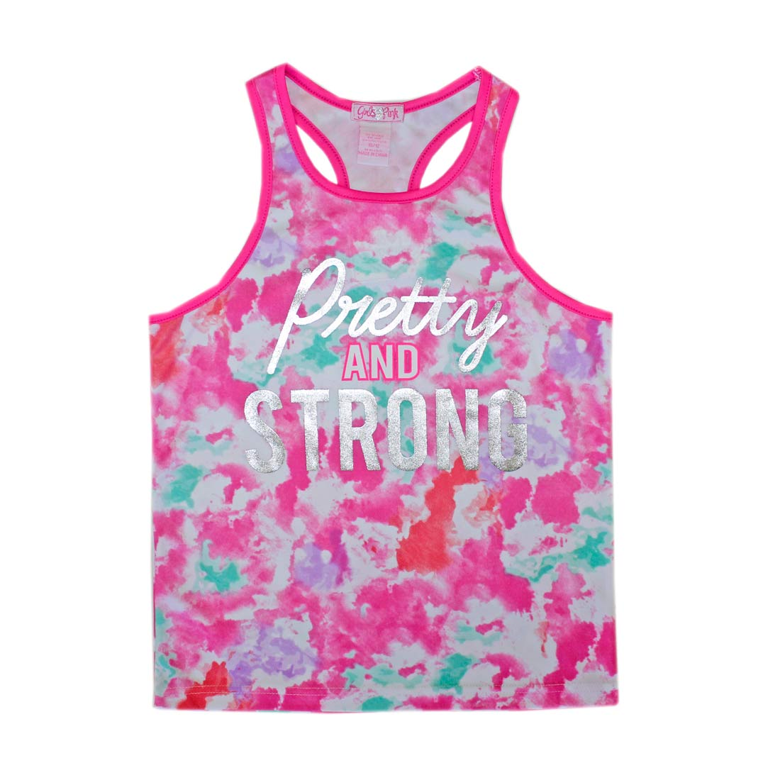 GIRLS PINK Pretty and Strong Athletic Top-2067467