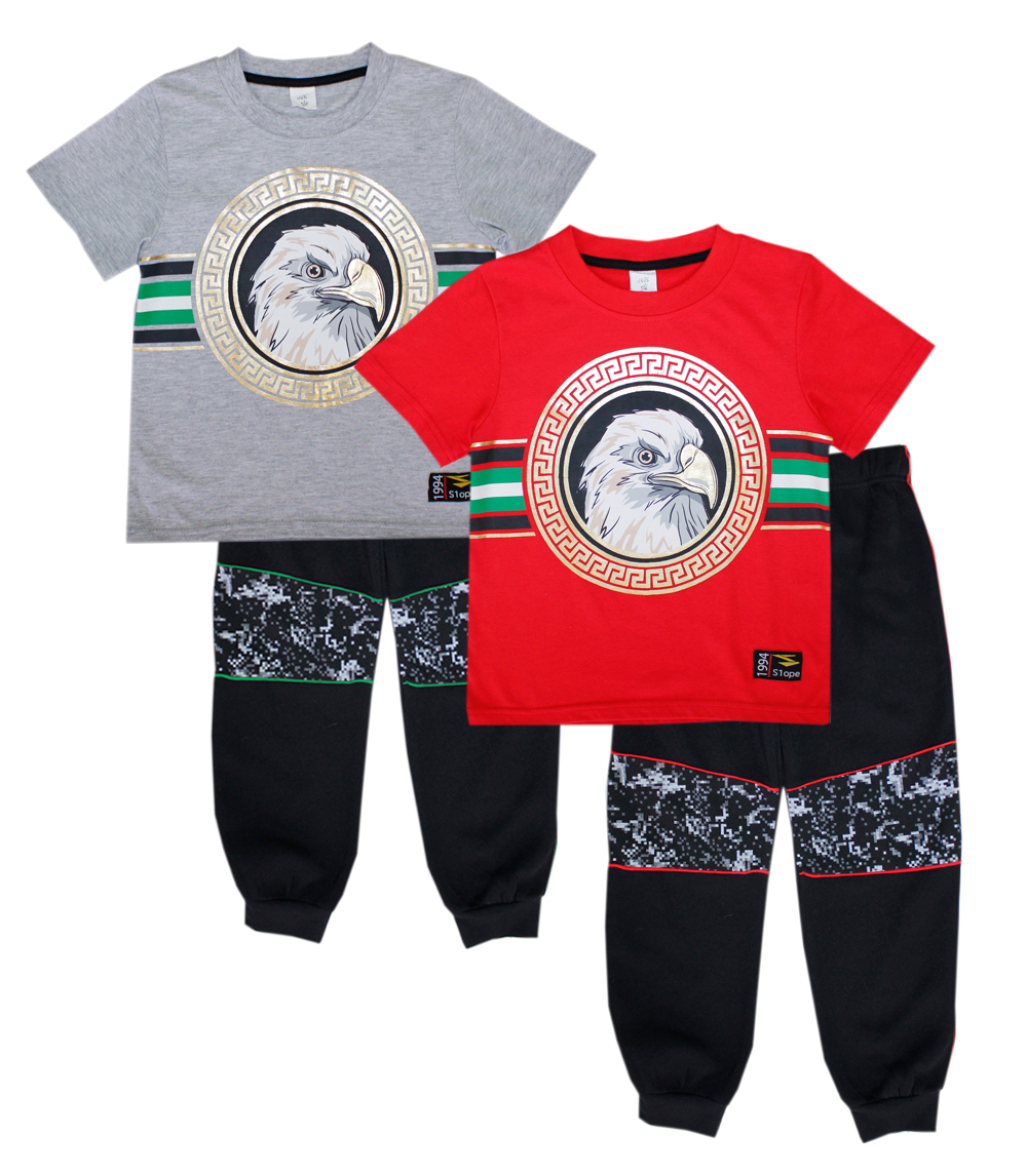S1OPE Infant Eagle Screen Top w Jogger Pant