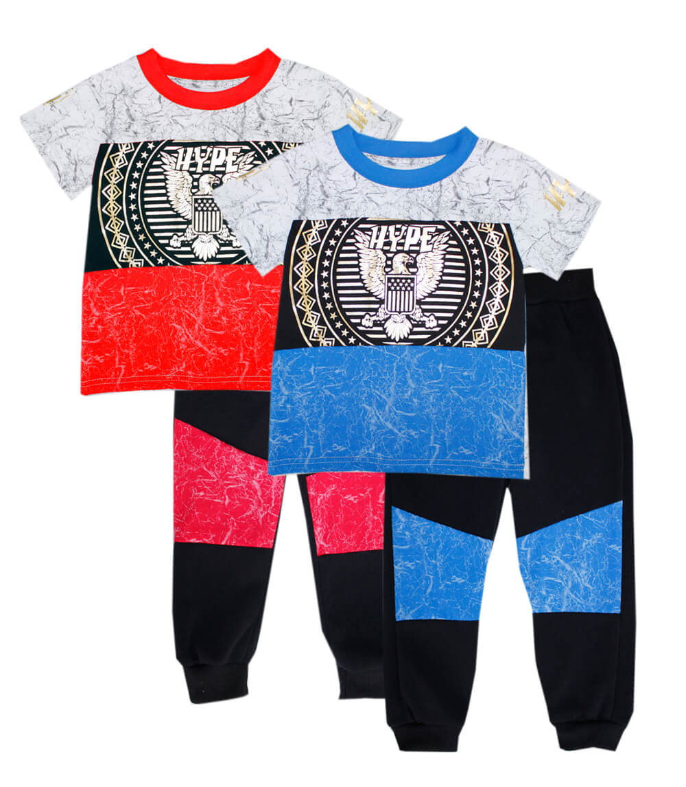 Boys Knit Top w Jogger Pant