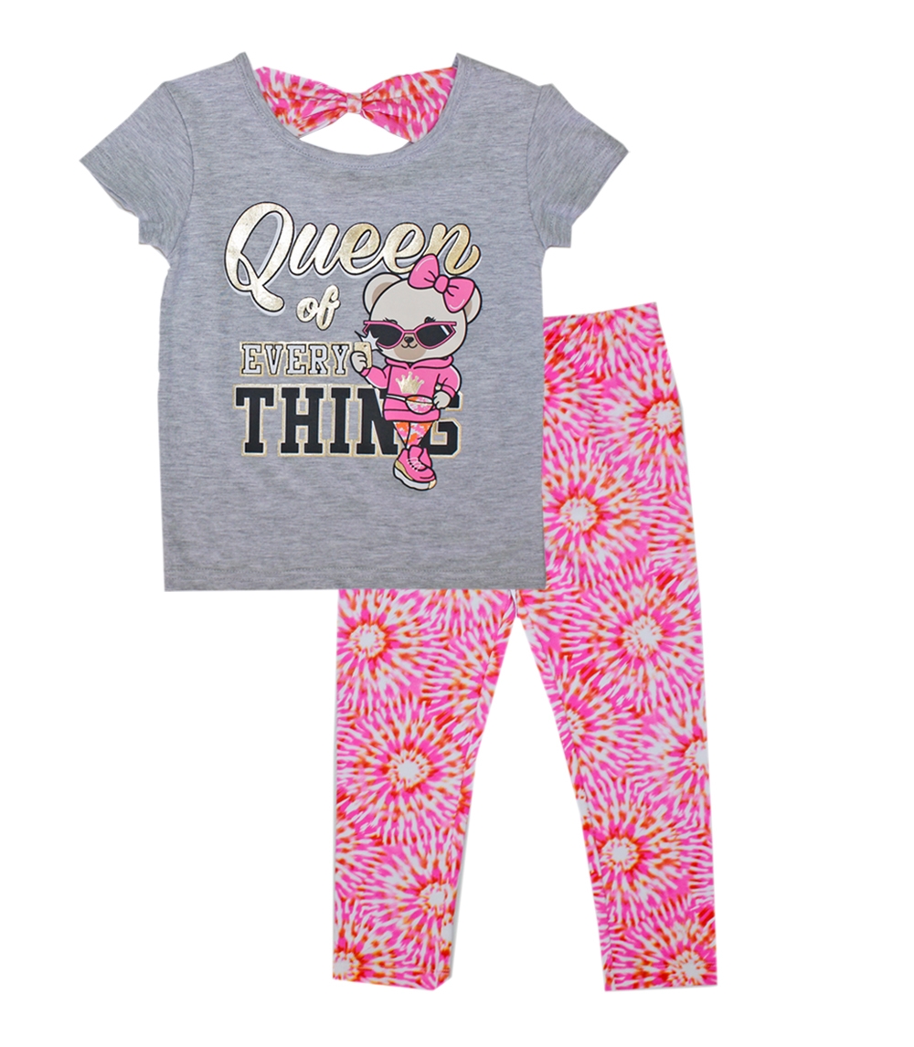 GIRLS PINK Infant Queen of Everything Top w Legging