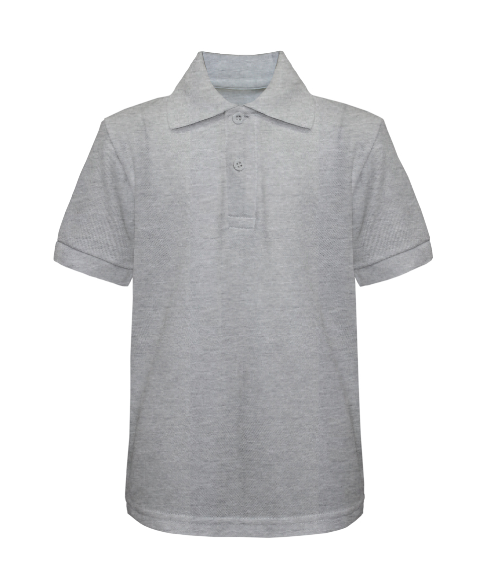 Pique Polo Heather Grey Tanvir 4-7