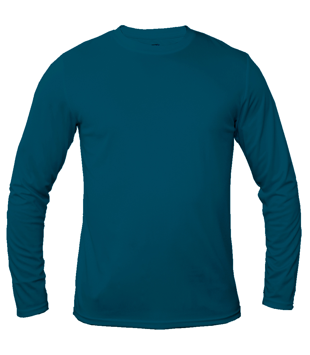 Performance L/S Crew Neck Galapagos Blue