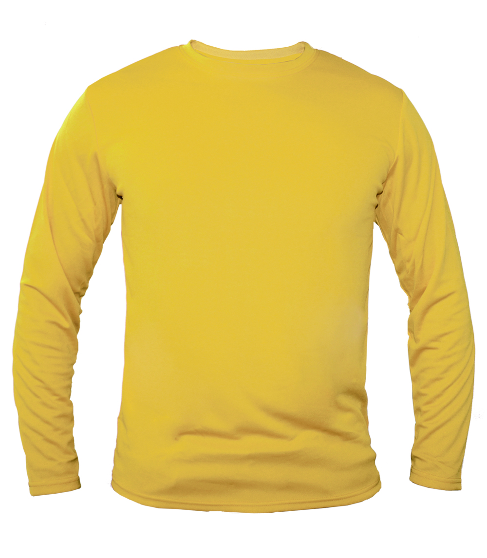 Performance L/S Crew Neck Lt. Yellow