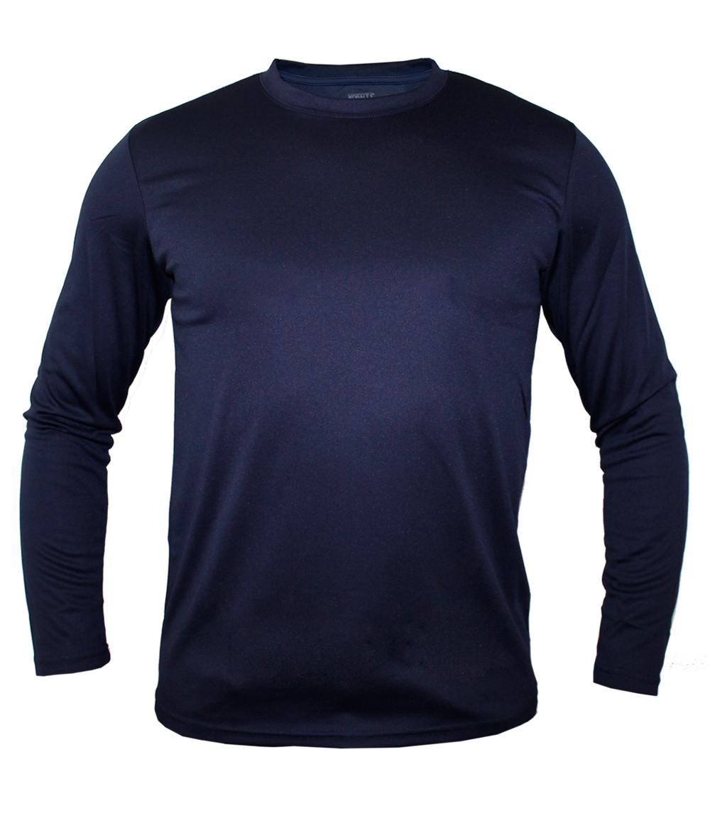 Performance L/S Crew Neck Navy