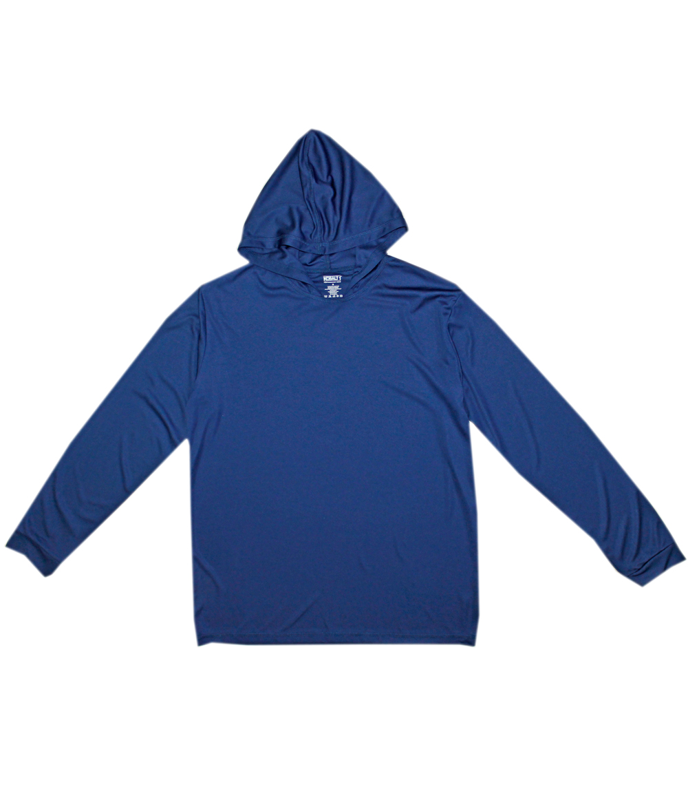 Performance L/S W Hood Navy