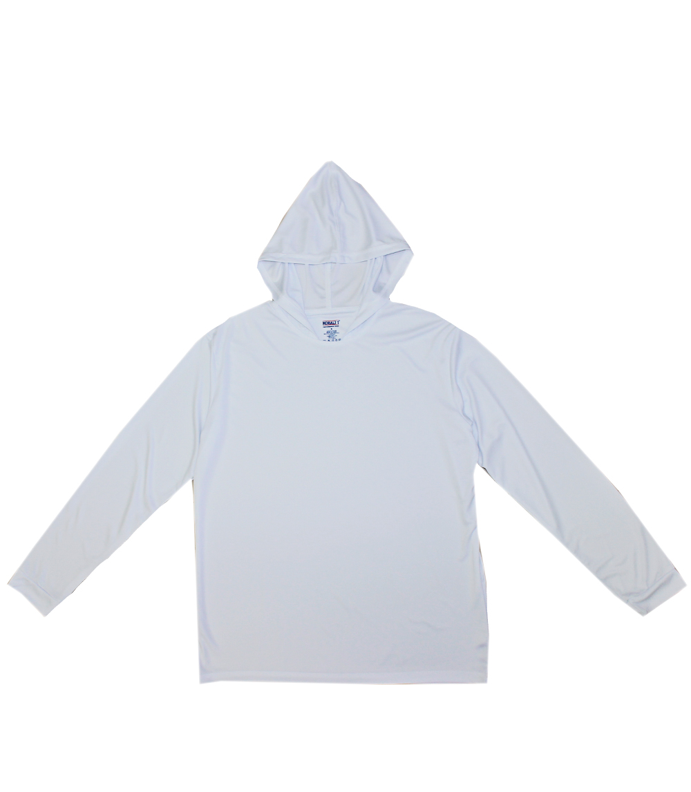 Performance L/S W Hood White