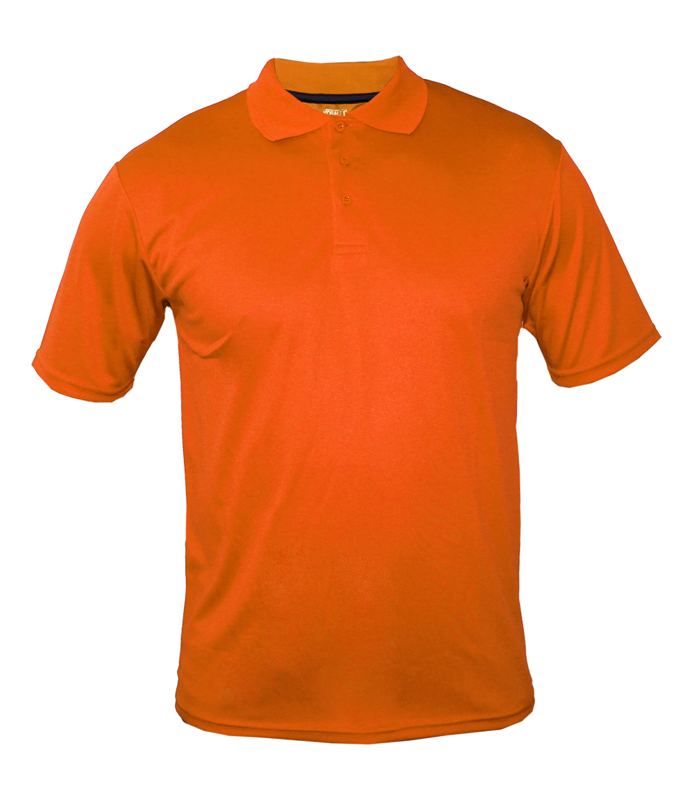 Performance Polo Orange