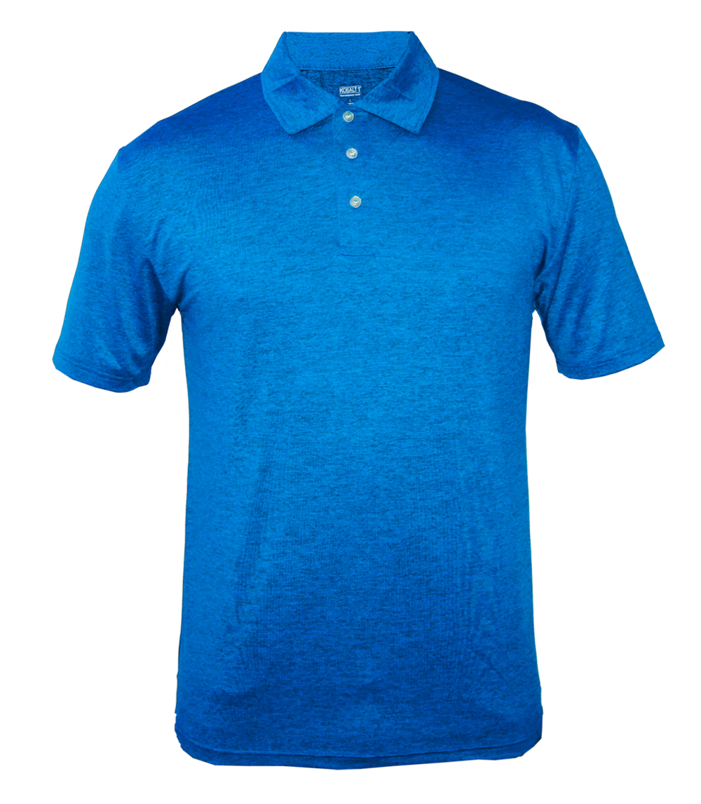 Performance Polo Heather Royal
