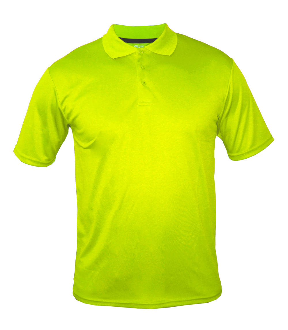 Performance Polo Neon Green