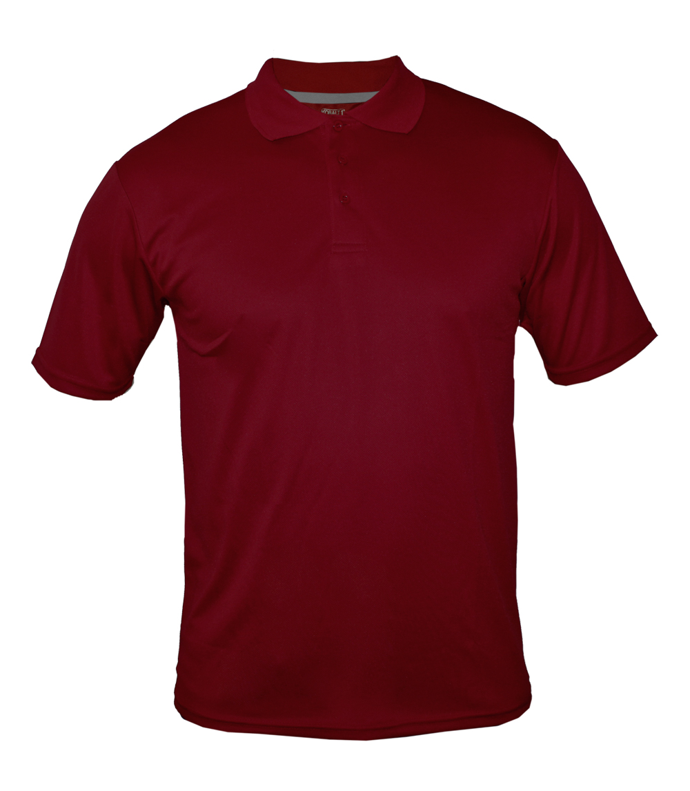 Performance Polo Heather Burgundy