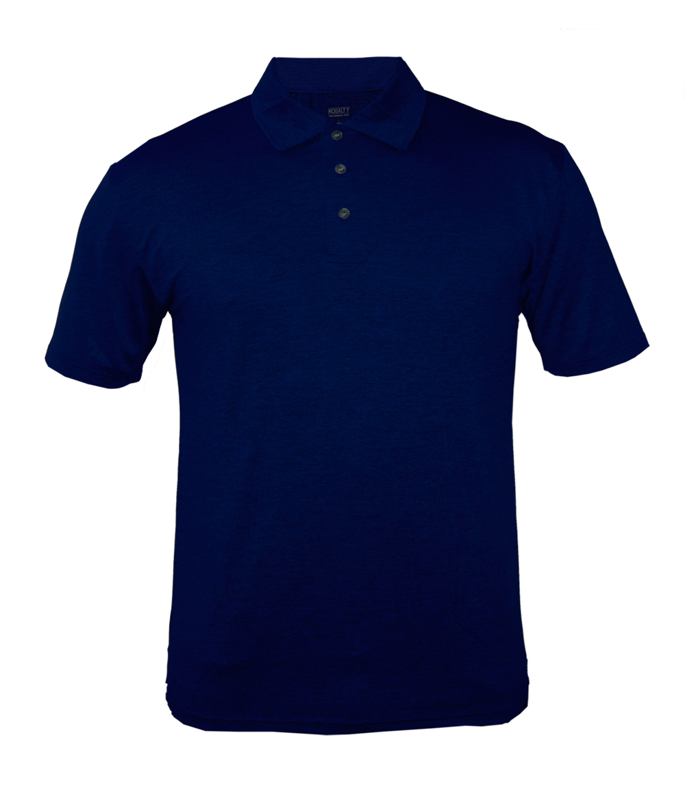 Performance Polo Heather Navy