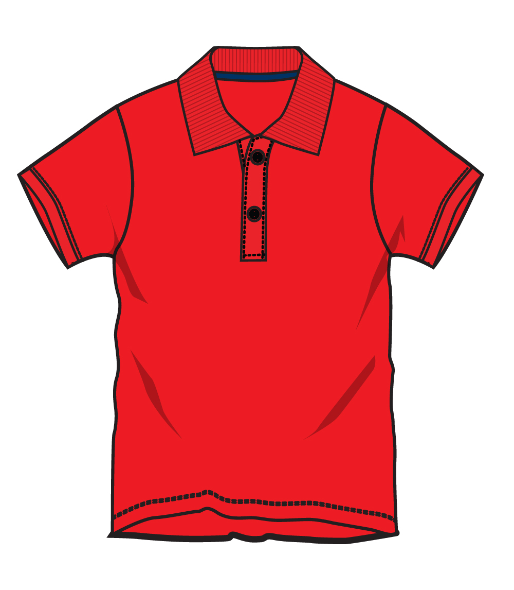 Performance Polo Red