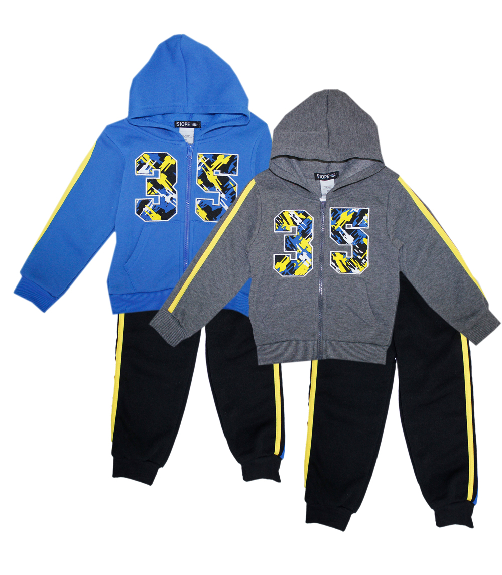 S1OPE Toddler Boys Zip Front