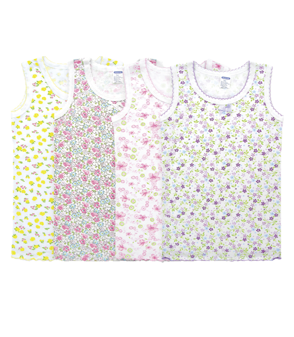 Girls Tank Tops White - Size: 14-16