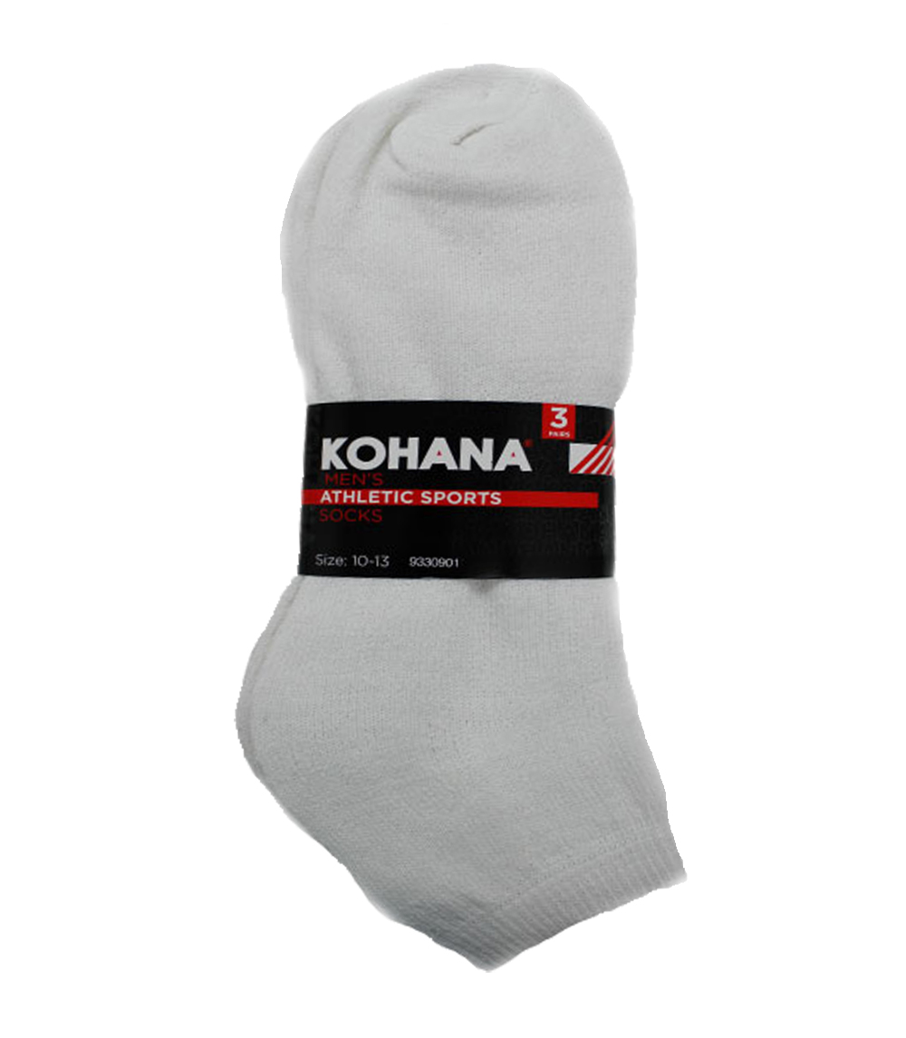 Socks - 10-13 White Low Cut Sport Socks