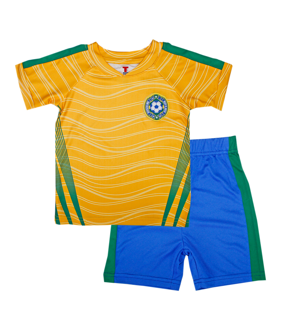 TEDDY BOOM SPORTS Toddler Athletic Soccer Short Sets