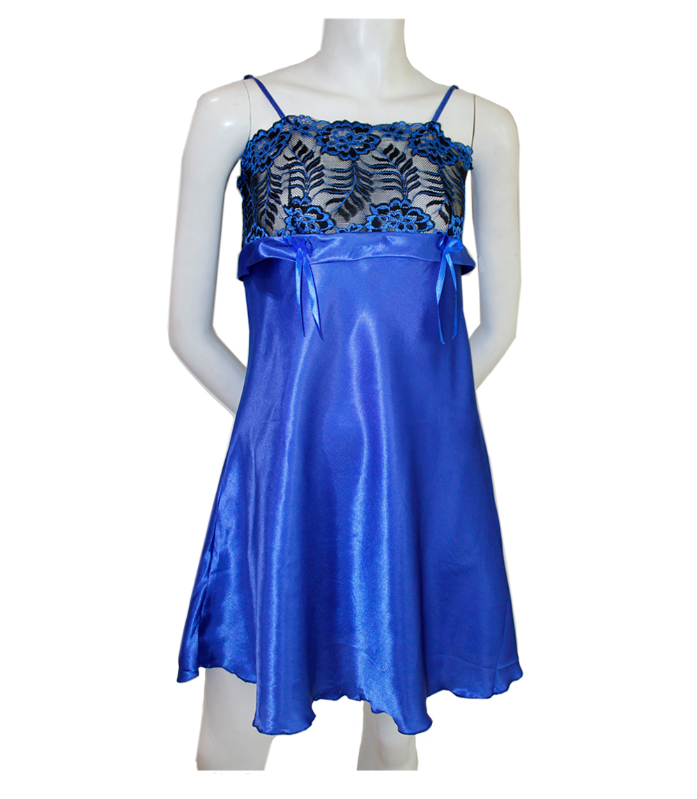 Ladies Satin Night Gown