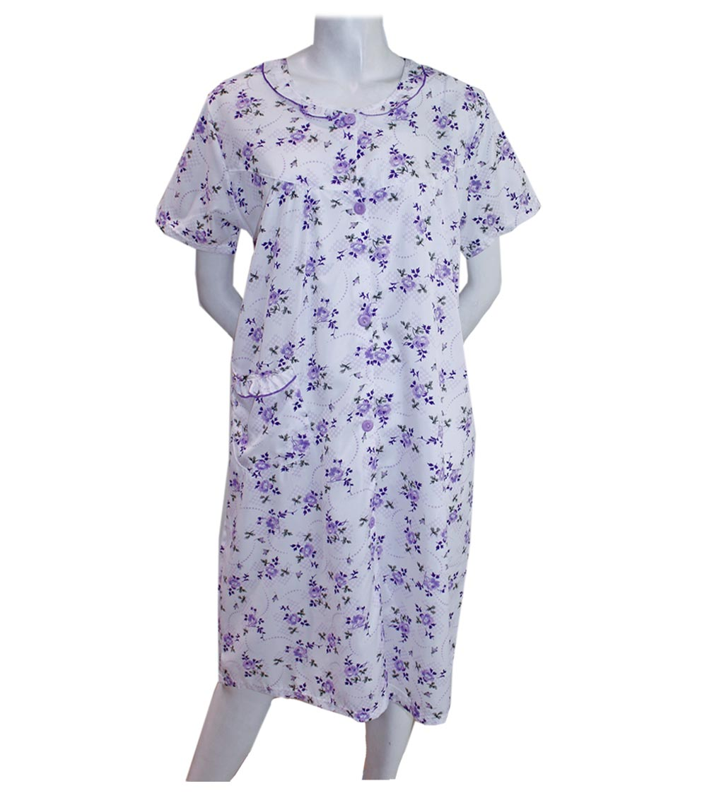 Ladies Printed Night Gown