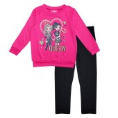 GIRLS PINK Hatchi Top with Queen Screen and Yummy Legging